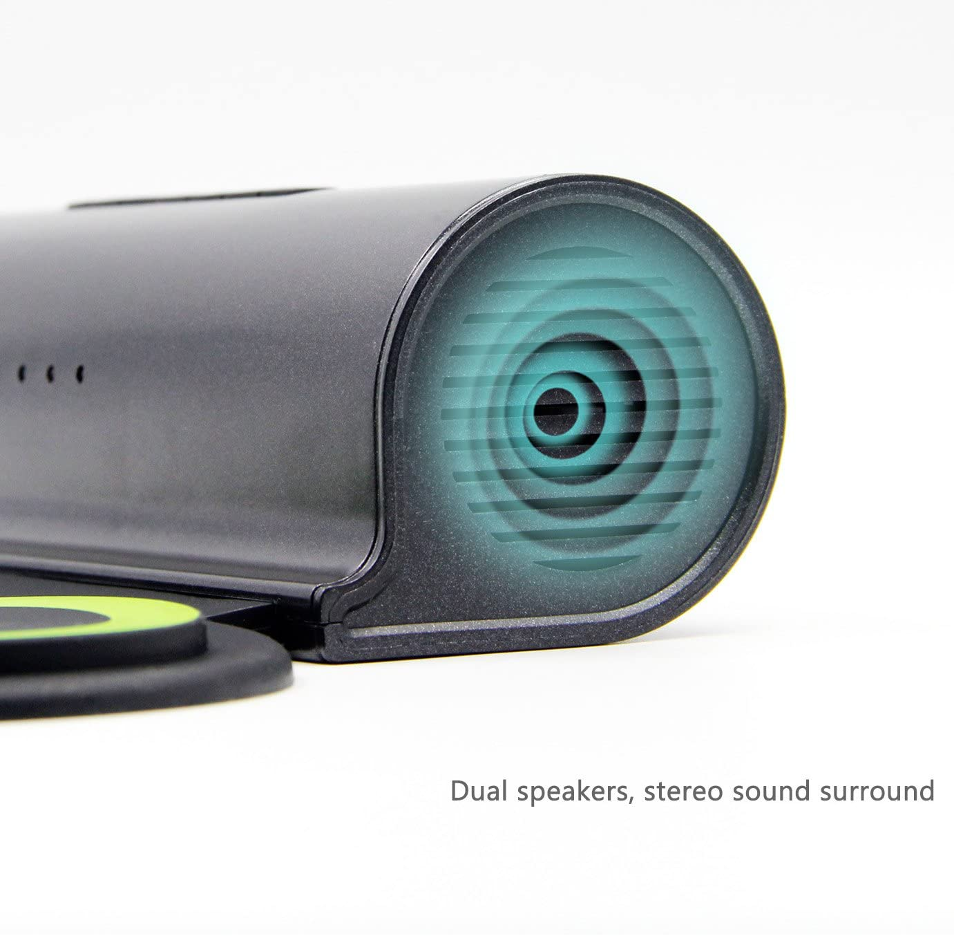 Electronic drum speaker